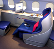 Business class, Malaysia Airlines