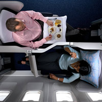 New business class seats, British Airways