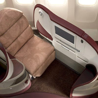 New business class seats, Jet Airways