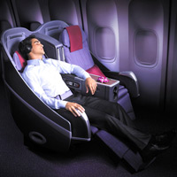 New business class seats, THAI Airways International