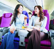THAI Airways Premium Economy seats