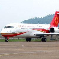 Chengdu Airlines was the launch customer for the China-made ARJ21