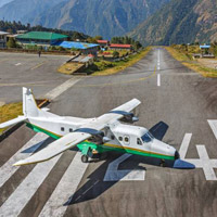 Asia's most dangerous airport, Lukla in Nepal, for Everest Base Camp expeditions