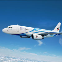 Asia boutique airlines, Bangkok Airways A319