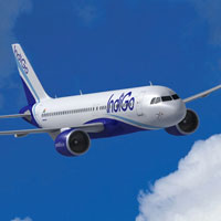 Asian budget airlines, IndiGo A320 over India