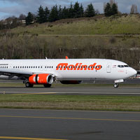 Malindo B737s are easy to spot in Asian skies