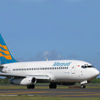 Small airlines in Asia, Merpati B737 in Indonesia