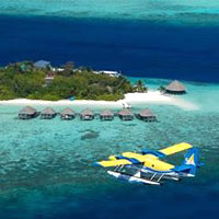 Small airlines in Asia are opening up new areas, Trans Maldivian over the Indian Ocean