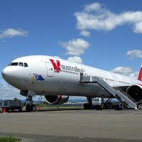 V Australia does longhaul transpacific flights
