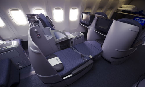 Lufthansa Business Class Angebote in die USA - United Business