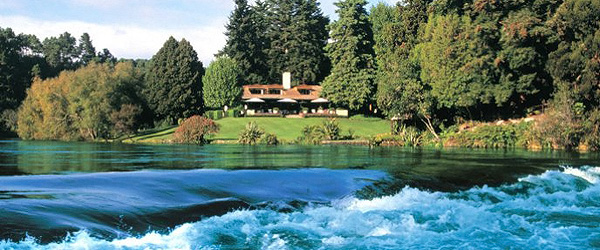 New Zealand luxury boutique hotels, Huka Lodge