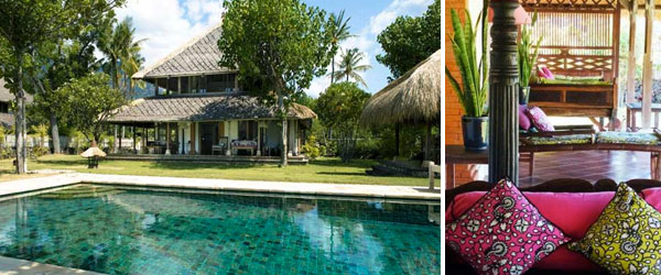 Puri Ganesha Villas, healthy breaks in north Bali
