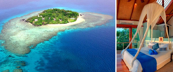 Royal Davui Island Resort is for romance and honeymooners