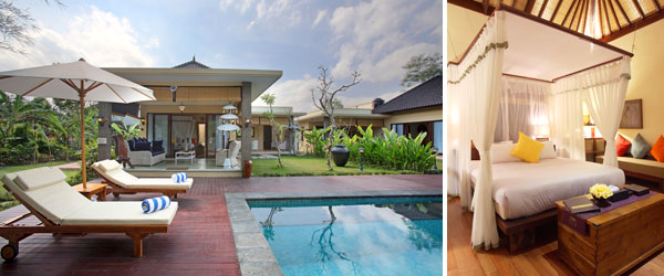 Villa Nirvana, a cosyand well hidden Bali boutique hotel