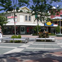 Cairns guide, downtown business district