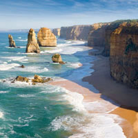 Melbourne guide - Not too far from the city is the Twelve Apostles rock formation