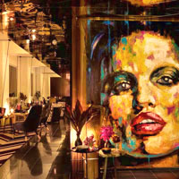 Melbourne boutique hotels, Adelphi art