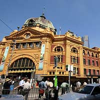 Melbourne guide for family fun, Flinders Station