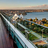 A review of Sydney business hotels, InterContinental views across harbour