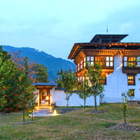 Bhutan luxury lodge, Amankora Punakha