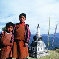 Bhutan fun guide, Nabgang scenery