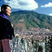 Bhutan guide, View from Changangka Monastery