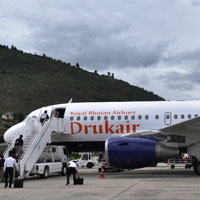 Airlines flying to Bhutan, Drukair A319