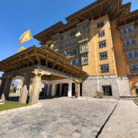 Thimpu hotels review, Taj Tashi, a top hotel in Bhutan