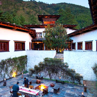 Bhutan luxury hotels review, Uma Paro