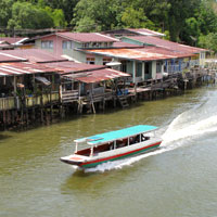 Brunei travel guide, Kampong Ayer river taxi