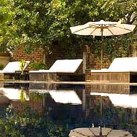 Siem Reap boutique hotels, Heritage Suites pool, Angkor
