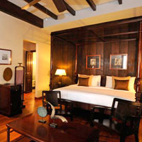 Samar Villas & Spa Resort junior suite room