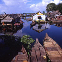 Angkor fun guide, Tonle Sap Lake floating village