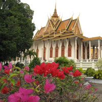 Phnom Penh guide, Silver Pagoda at Royal Palace