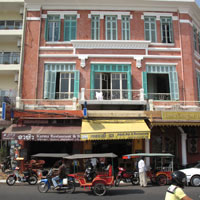 Phnom Penh guide, colonial building on Sisowath