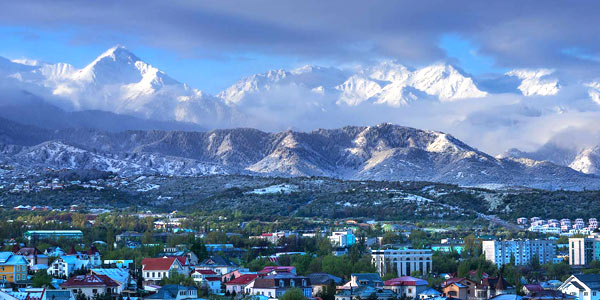 Almaty fun guide - the city is within striking distance of the mountains and ski resorts