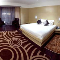 The Dostyk Hotel offers functional clean rooms