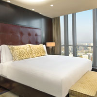 Almaty luxury hotels for business travellers, Ritz-Carlton room with a view