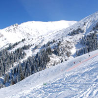 Skiing in Kazakhstan, Shymbulak resort