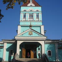 Almaty guide to churches, St Nicholas Cathedral