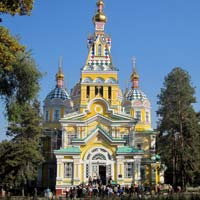 Almaty fun guide, Zenkov Cathedral