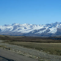 Bishkek mountain ranges
