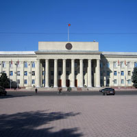 Bishkek guide, Parliament building