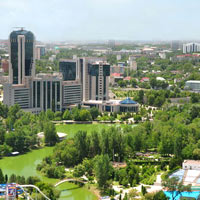 Tashkent is a green city