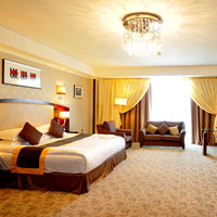 Tashkent business hotels, Miran room decor