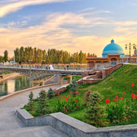 Tashkent guide to parks and mosques