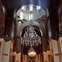 Yerevan guide, church interior