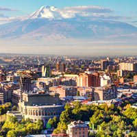 Yerevan fun guide, mountains provide a grand backdrop to the city