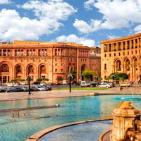 Guide to Yerevan business hotels, Armenia Marriott