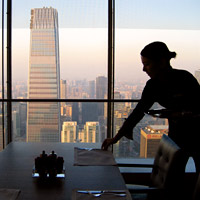 best Beijing business hotels, the lofty Park Hyatt